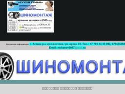 выездной шиномонтаж Нур-Султане (Астана), мобильный шиномонтаж